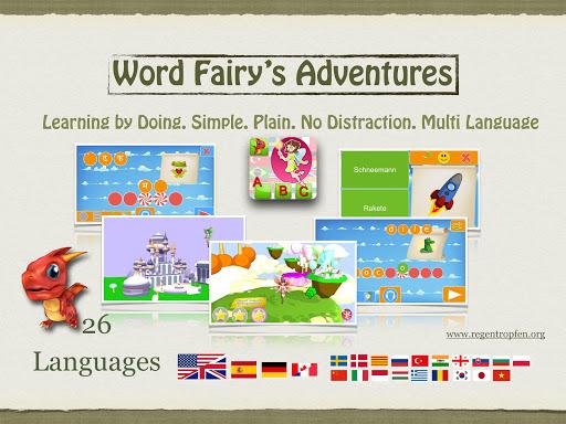 word fairy's adventures screenshot 1