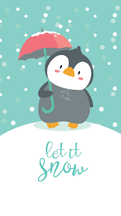 Penguin stickers for WhatsApp . WAStickerApps Screenshot