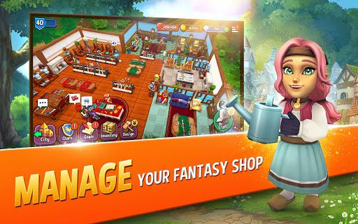 Shop Titans: Epic Idle Crafter, Build & Trade RPG apktram screenshots 2