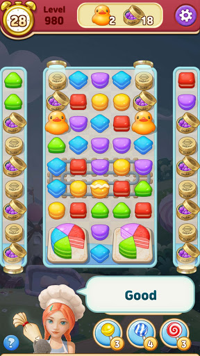 Sweet Macaron : Match 3 android2mod screenshots 10