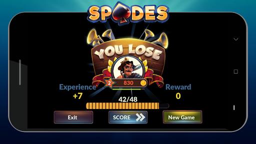 Spades - Offline Free Card Games android2mod screenshots 8
