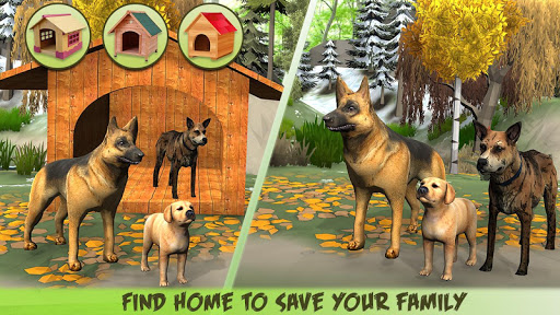 Code Triche Dog Family Simulator - Virtual Game 2019 (Astuce) APK MOD screenshots 2