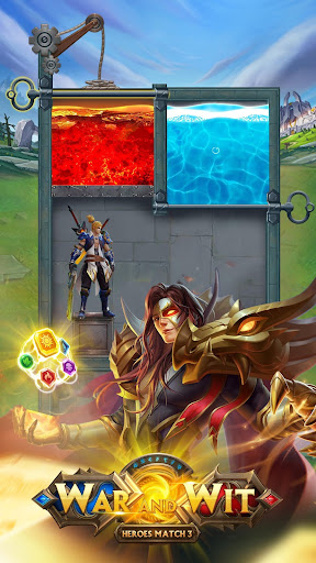 Télécharger War and Wit: Heroes Match 3  APK MOD (Astuce) screenshots 1