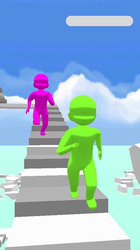 Télécharger Gratuit Stair Race APK MOD (Astuce) screenshots 1