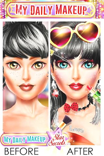 My Daily Makeup - Girls Fashion Game 1.2.7 screenshots 2
