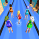 Queen Beauty Outfit Run 3D - School Bee Walk Race