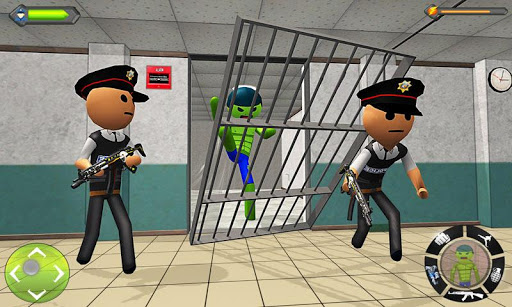 Stickman Incredible Monster : Hero Prison Escape screenshots 1