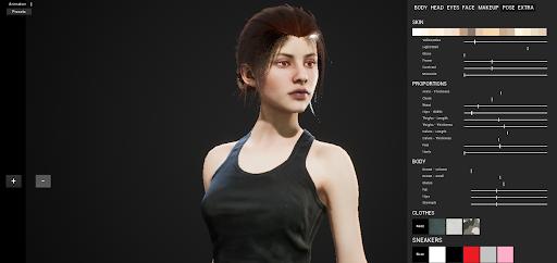 Custom female 1.1 screenshots 2