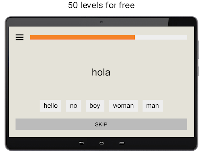 Learn Spanish words free with uLexicon