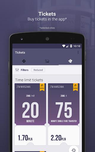 Jakdojade: public transport 4.6.13 Screenshots 2