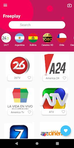 FreePlay - Tv en vivo Gratis 1.3.1.1 Screenshots 4