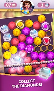 Diamond Diaries Saga Mod 1.40.0 Apk (Unlimited Gold, Moves) 1