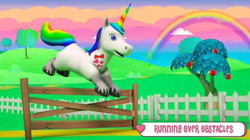 Baby Unicorn Wild Life: Pony Horse Simulator Games 1.2.5 screenshots 3