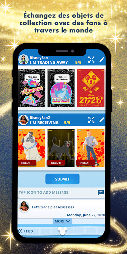 Disney Collect! par Topps APK MOD – Pièces de Monnaie Illimitées (Astuce) screenshots hack proof 2