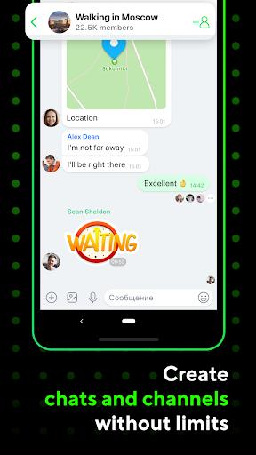 ICQ Messenger: Video Calling App & Chat Rooms 9.15.1(824727) Screenshots 5
