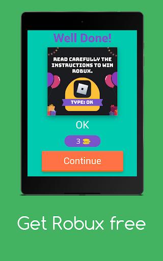 Get Robux Free - Quiz 2021  screenshots 8