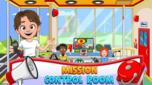 Fireman, Fire Station & Fire Truck Game for KIDS android2mod screenshots 4