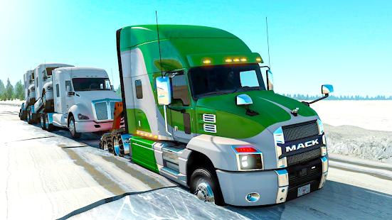 American Truck Simulator Heavy Cargo 3D Mod Apk