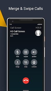 HD Phone 6 i Call Screen OS9 & Dialer OS 14 Style Screenshot