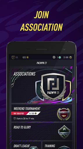 Pacwyn 21 - Football Draft and Pack Opener 1.0.4 Screenshots 3