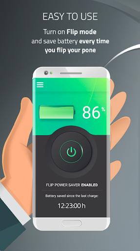 Battery Saver & Charge Optimizer - Flip & Save  screenshots 1