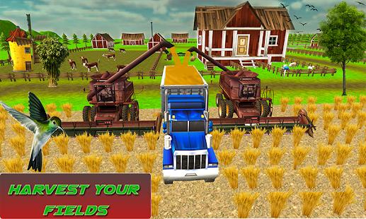 Mega Tractor Simulator - Farmer Life 2019 1.0.2 Screenshots 2