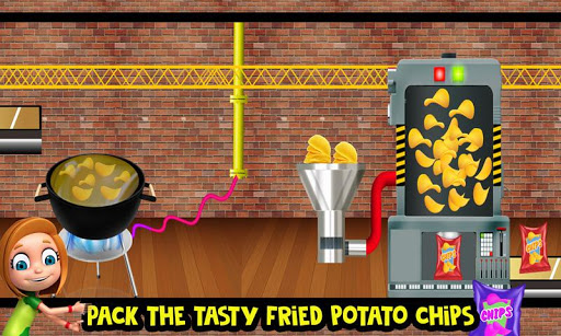 Potato Chips Snack Factory: Fries Maker Simulator  screenshots 1
