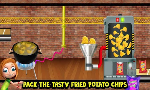 Potato Chips Snack Factory: Fries Maker Simulator 1.0.8 Android Mod APK 1