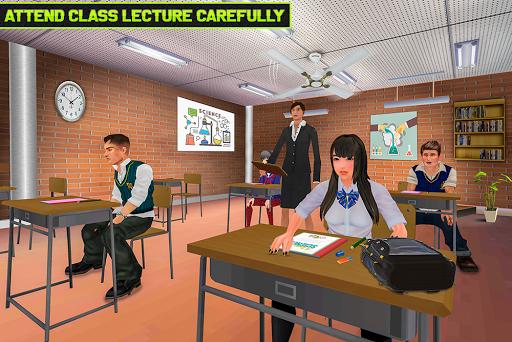 Virtual High School Life Simulator Offline 2020  screenshots 6