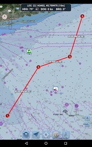 Marine Ways - Free Nautical Charts 1.24 Screenshots 17