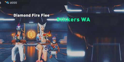 Fire Fiee Stickers: Alok, Maro Diamond WASticker  screenshots 2