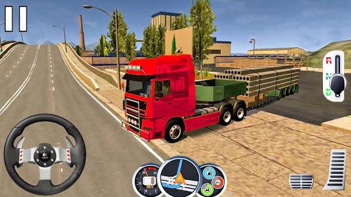 US Heavy Modern Truck: Grand Driving Simulator 3D  screenshots 2