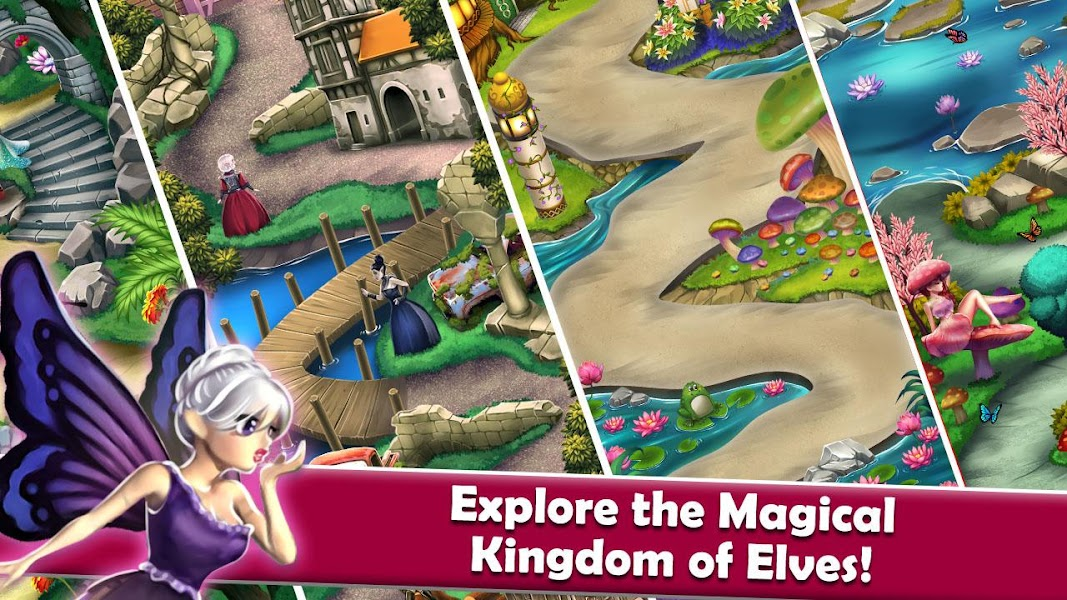 Mahjong Magic Worlds: Journey of the Wood Elves
