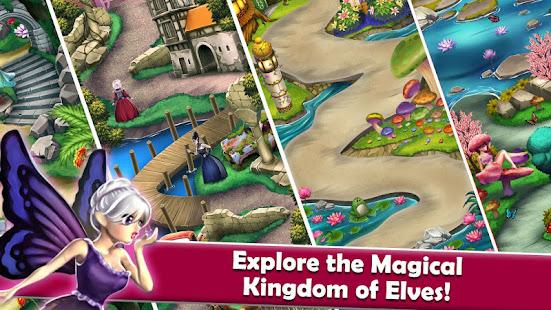 Mahjong Magic Worlds: Journey of the Wood Elves 1.0.77 screenshots 1