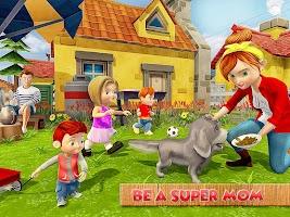 Virtual Mother Life: Happy Family Mom Simulator