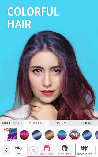 YouCam Makeup - Selfie Editor & Magic Makeover Cam apktreat screenshots 1