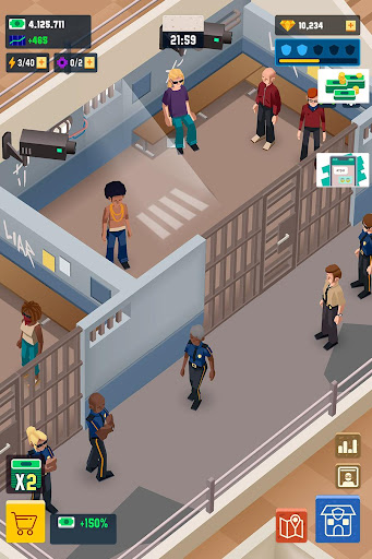 Idle Police Tycoon - Cops Game 1.2.1 screenshots 6