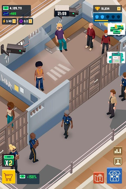 Idle Police Tycoon