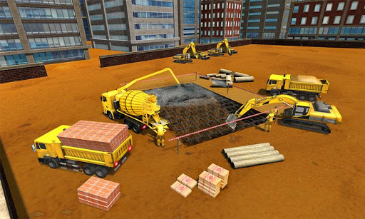 Supermarket Construction Games:Crane operator 1.6.0 screenshots 4