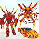 Grand Robot Transform Spider Games