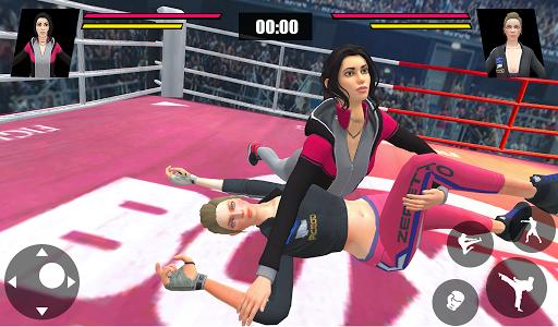 Women Wrestling Ring Battle: Ultimate action pack apkslow screenshots 13