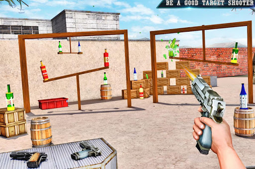 Real Bottle Shooting Free Games: 3D Shooting Games android2mod screenshots 6