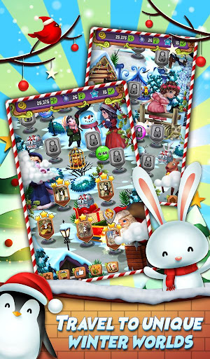 Xmas Mahjong: Christmas Holiday Magic apktram screenshots 16