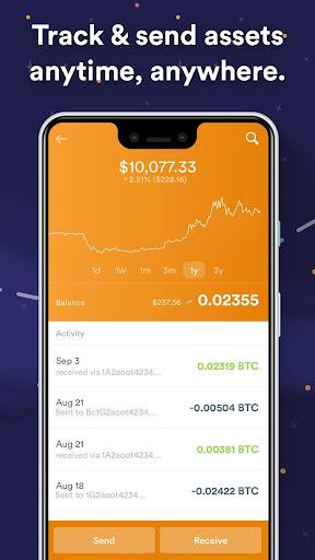 BRD Bitcoin Wallet. Bitcoin Cash BCH, Bitcoin BTC apktram screenshots 3