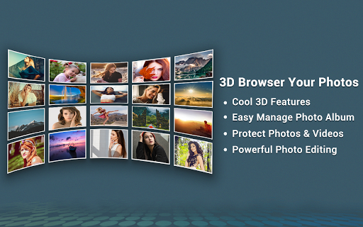 Photo Gallery 3D & HD  screenshots 1
