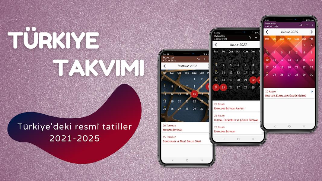 Türkiye Takvimi 2021