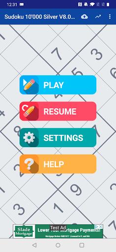 Sudoku 10'000 Free 8.00 screenshots 1