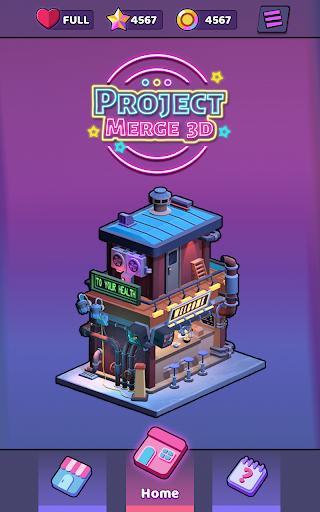 Project Merge 3D - Matching Pair Game apkdebit screenshots 9