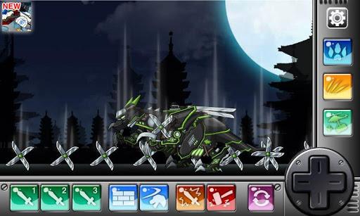 Ninja Velociraptor-Combine!Dino Robot:DinosaurGame 2.0.1 screenshots 3