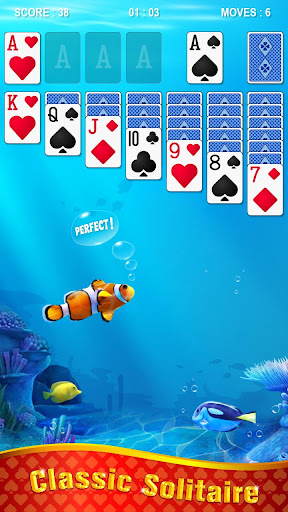 Solitaire - Ocean apkslow screenshots 4